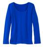 Solid-Color Long-Sleeve Tee