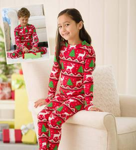 Holiday Print Pajamas