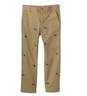 Football-Embroidered Chino Pants
