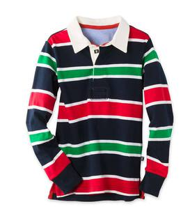 Holiday Stripe Rugby Shirt