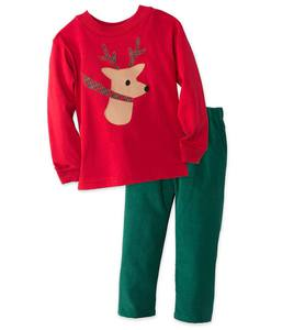 Reindeer Pants Set