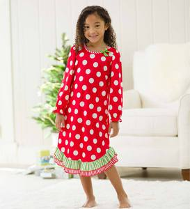 Christmas Dot Gown