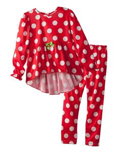 Christmas Dot High-Low Pajamas