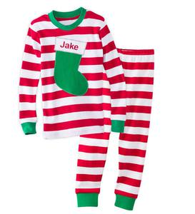 Personalized Stripe Pajamas