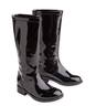 Patent Tall Boot