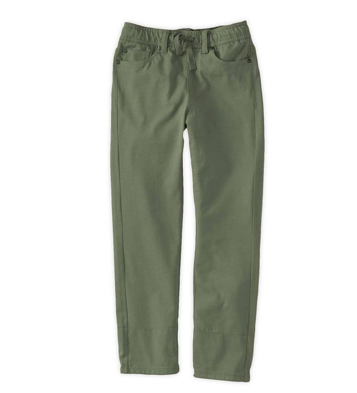 Pull-On Pants - Army Green - 10