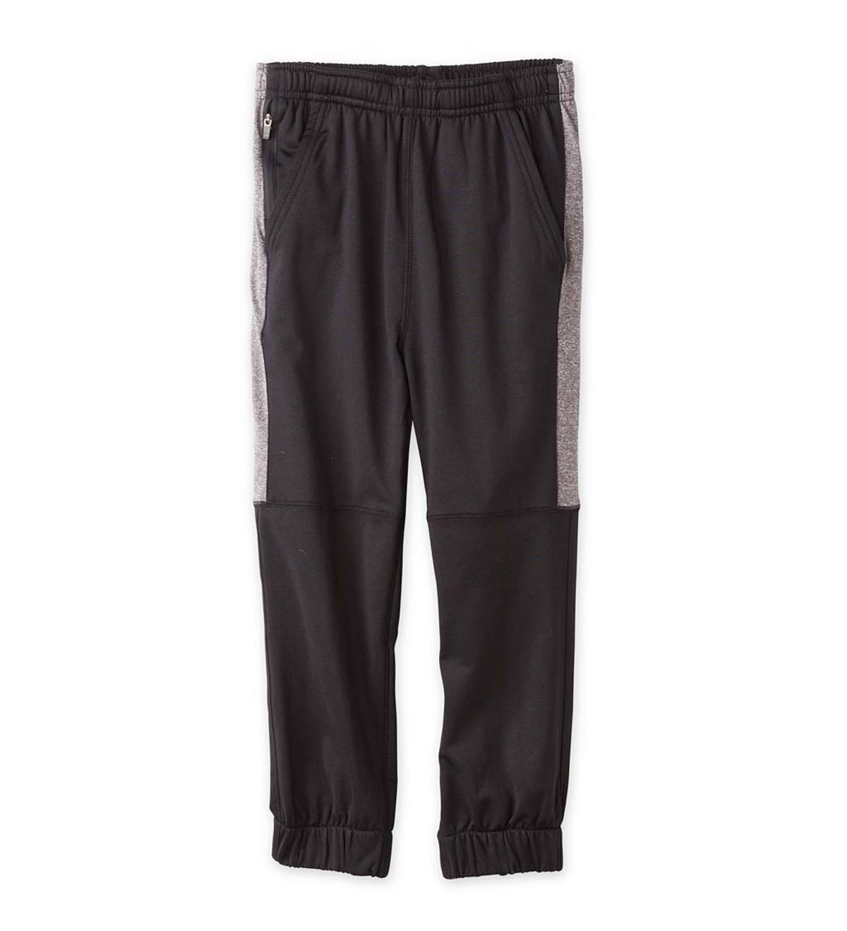 Stripe Performance Jogger Pants - Black - 2T