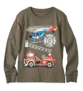 Long-Sleeve Rescue Transportation Tee