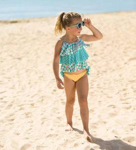 Seashell Tiered Tankini