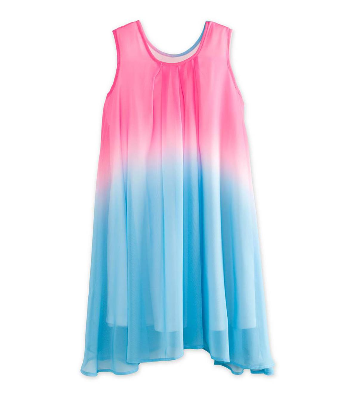 Ombre Swing Dress - Pink - /12