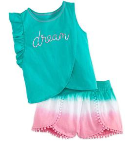 Dream Tee & Ombre Shorts Set