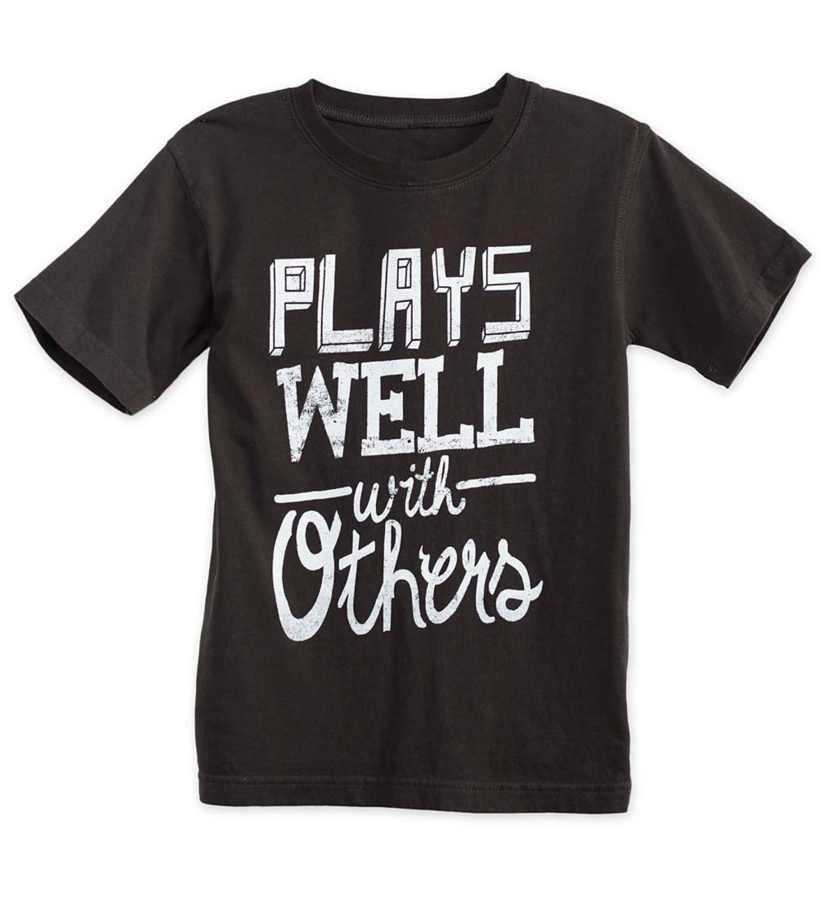 Plays Well With Others Tee - Gray - /12