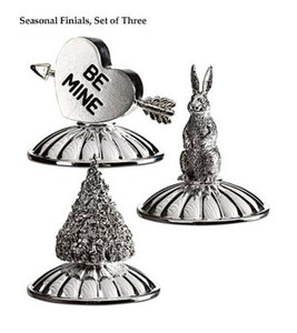 Seasonal Finials, set of 3
