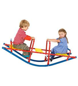 Durable Weather-Resistant Metal Rocking Seesaw