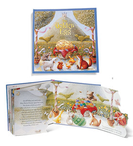 The Golden Egg Rhyming Watercolor Lift-Up Flap Book