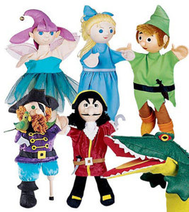Peter Pan Puppets