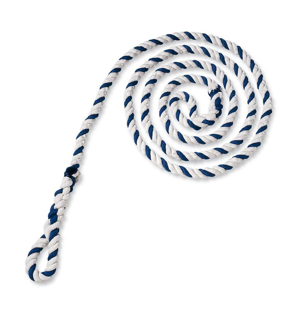Blue-striped-jump-rope-with-2-loop-handles