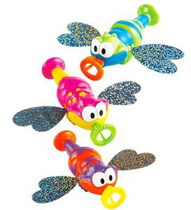 Set of 3 Bubblin' Glitterbugs with Holographic Wings