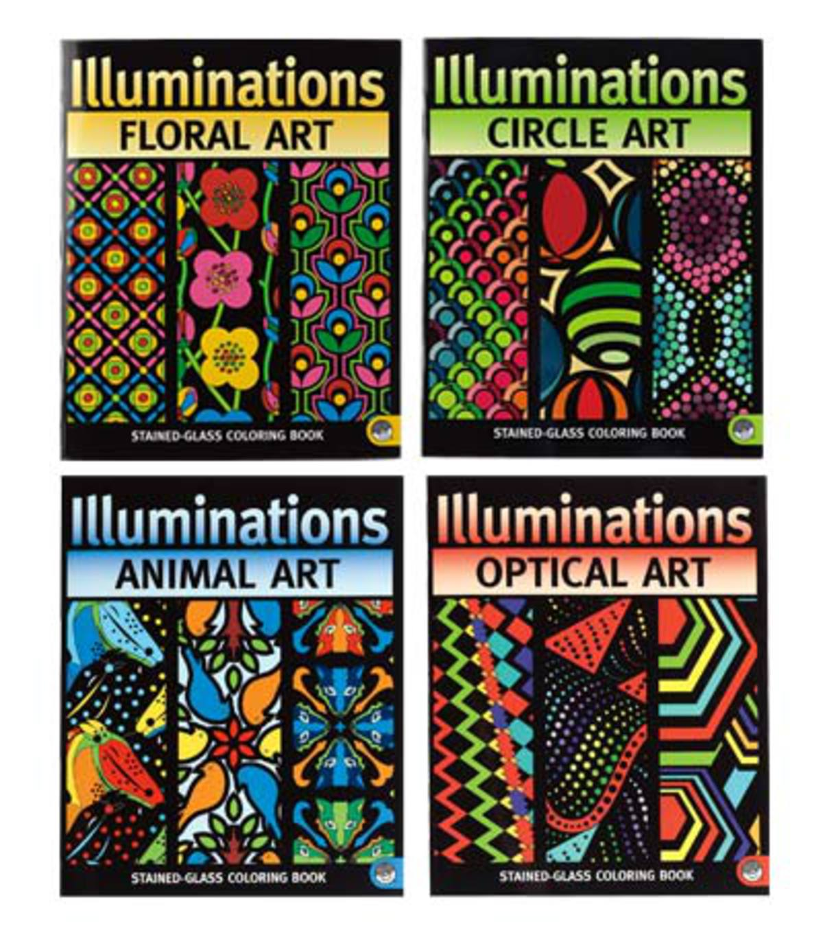 Illuminations Coloring Books and Markers Fine-Tip Markers