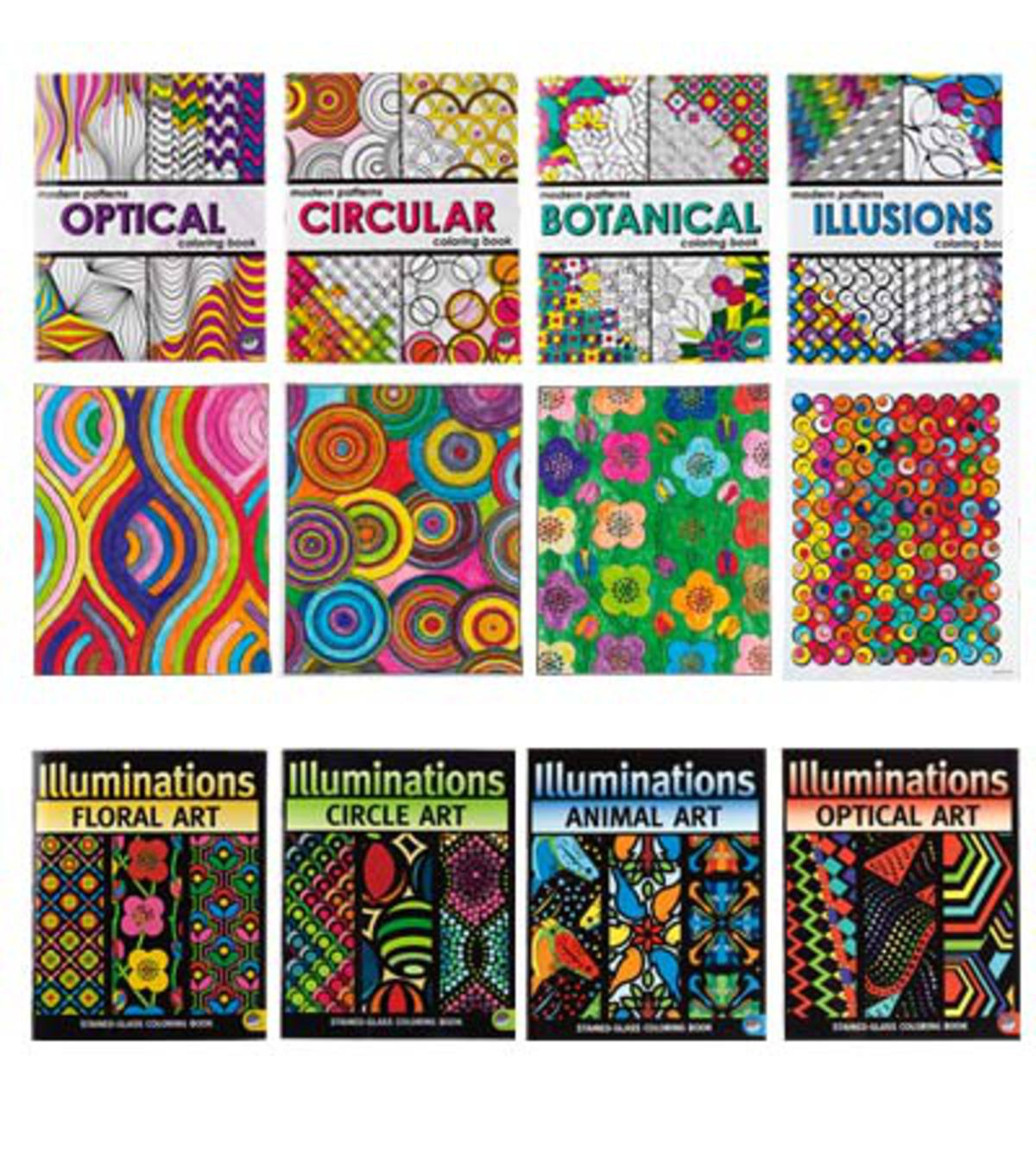 Modern Patterns Abstract Designs Book