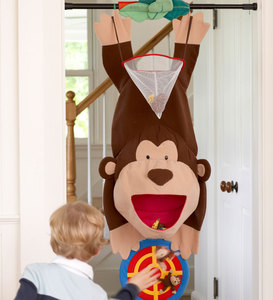 Three-In-One Monkey Doorway Target Game