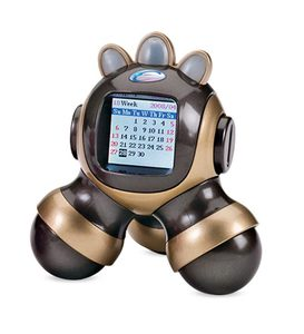 "4"" Portable Digital Photo Robot with USB Cable"