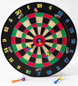 Doinkit Indoor-Safe Magnetic Dartboard and Darts Set