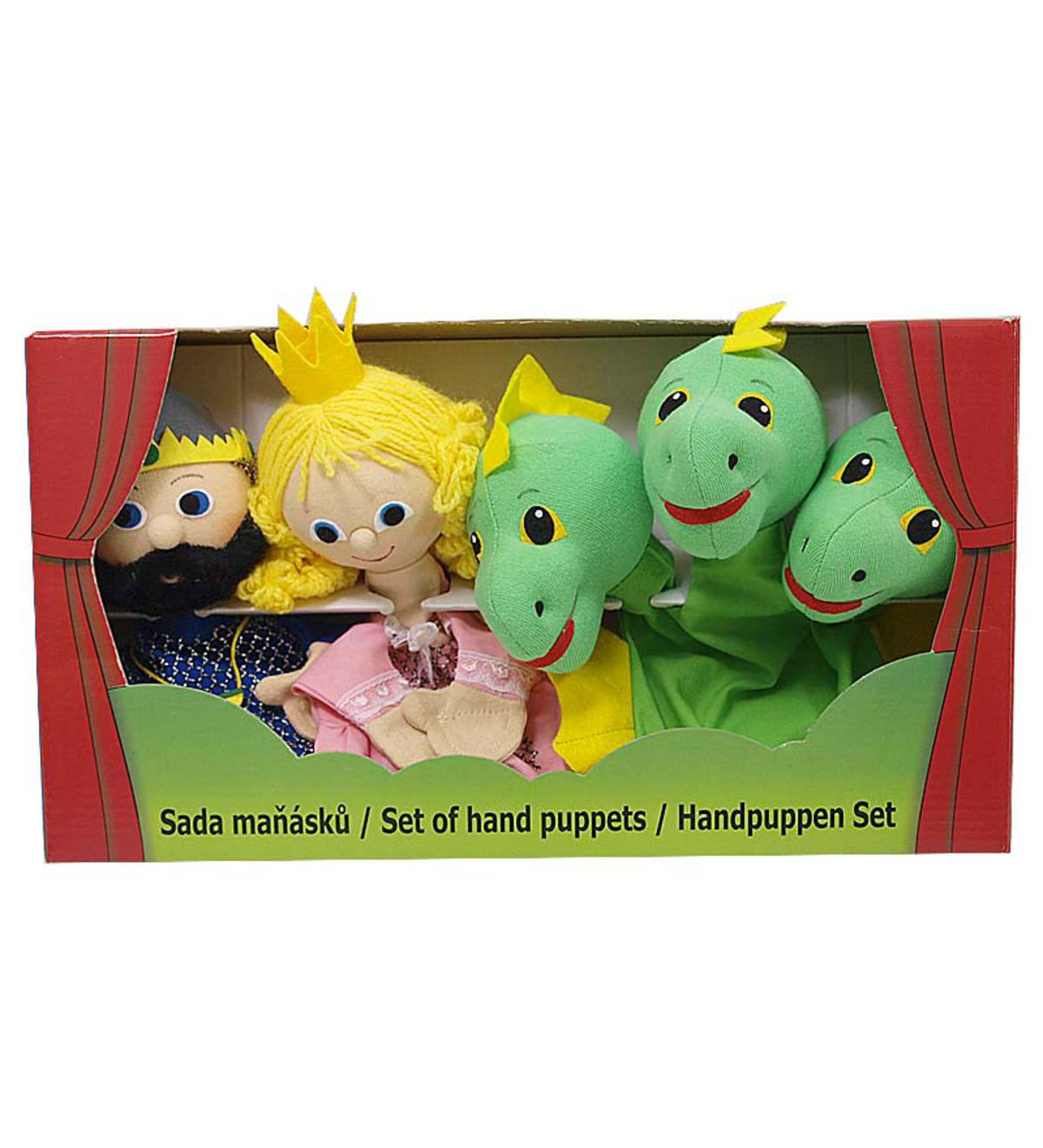 Dragon and Knight Puppet Gift Set