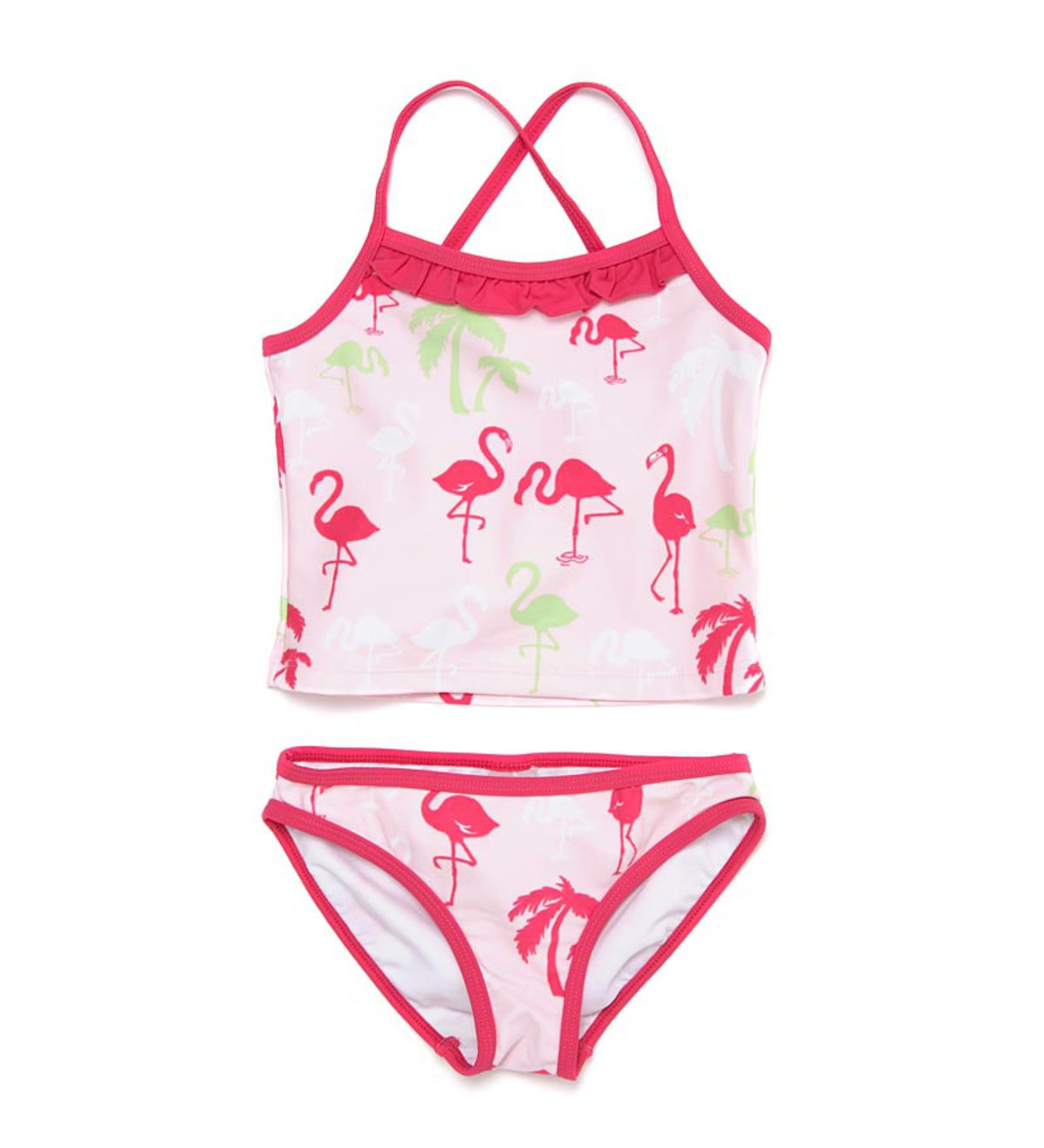 Criss-Cross Two-Piece Bathing Suit by Hatley