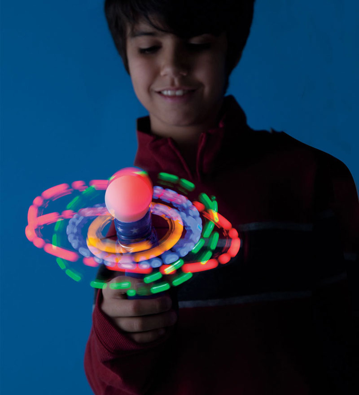 Hand-Held LED Galaxy Spinner