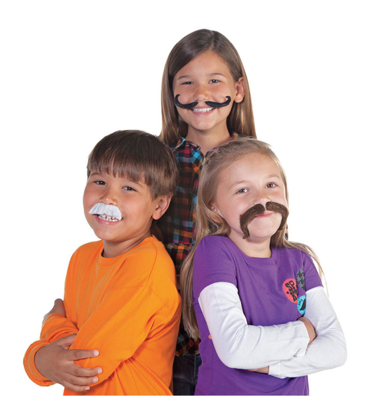 Set of 12 Dress-Up Mustaches