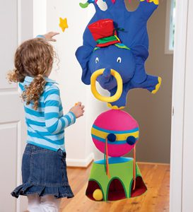 Three-Ring Circus Doorway Target Game