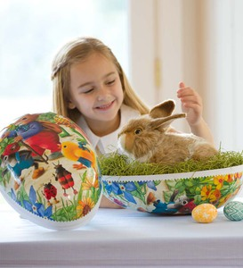 Big-as-a-Basket Easter Egg and Pet Rabbit Special