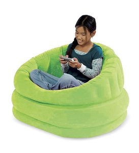 Plush Inflatable Cafe Chair