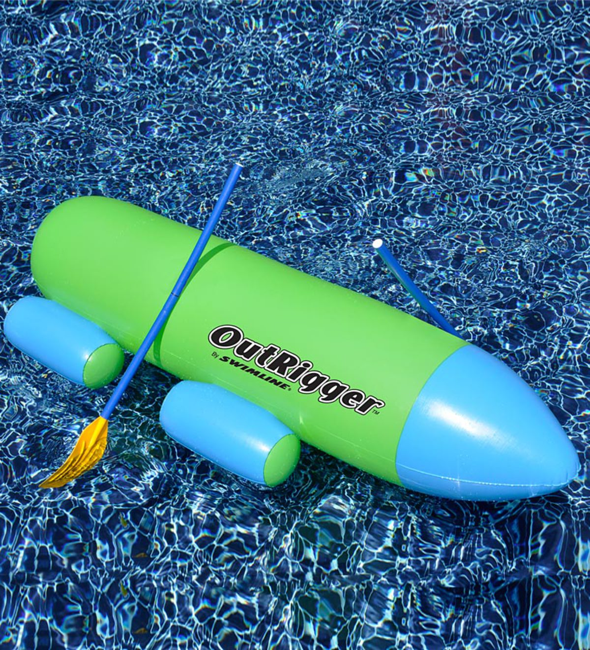 Swimline OutRigger Inflatable Pool Row About