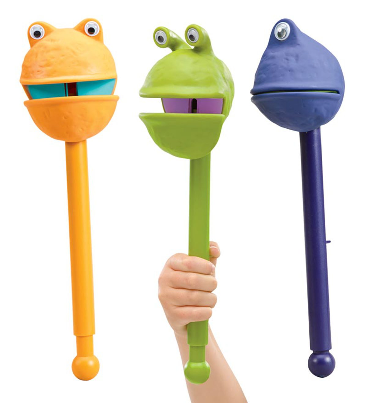Set of 3 Puppets-on-a-Stick™