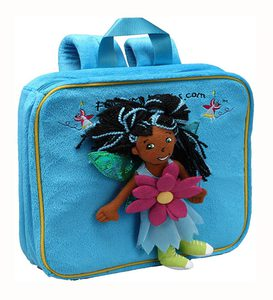Follow Me Fairies® Plush Fairy Activity Backpack with Removable Fairy Doll