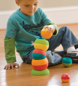 Tobbles stacking nesting building toy