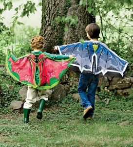 Fantasy Flier Bat or Dragon Fabric Wings