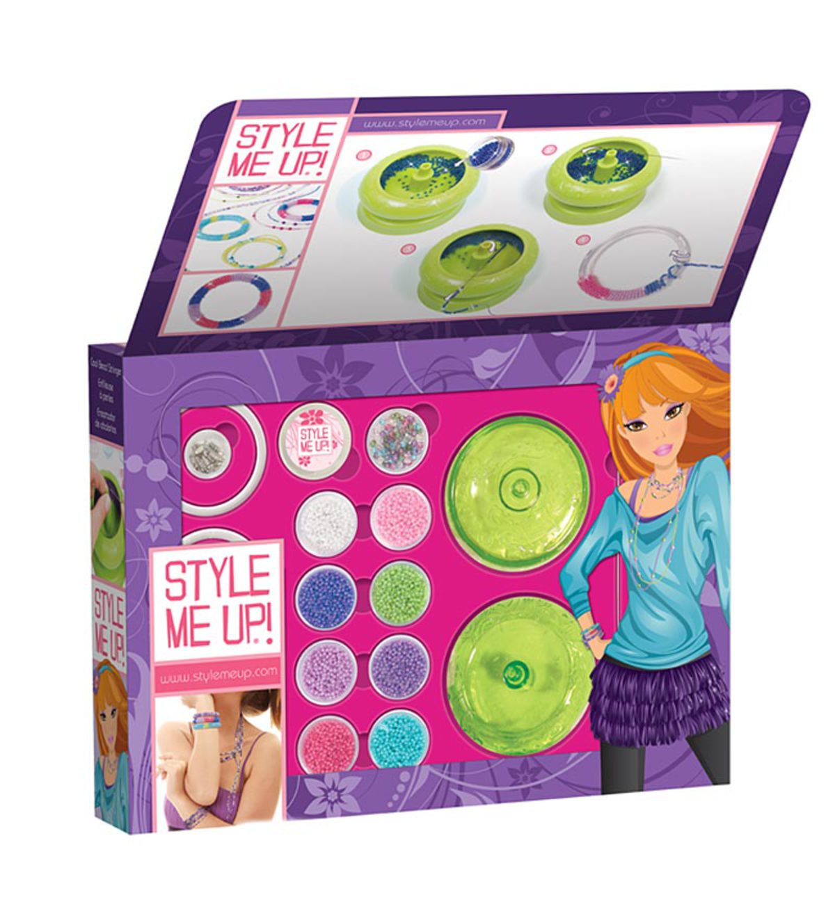 Style Me Up Cool Bead Stringer with Beads and Supplies