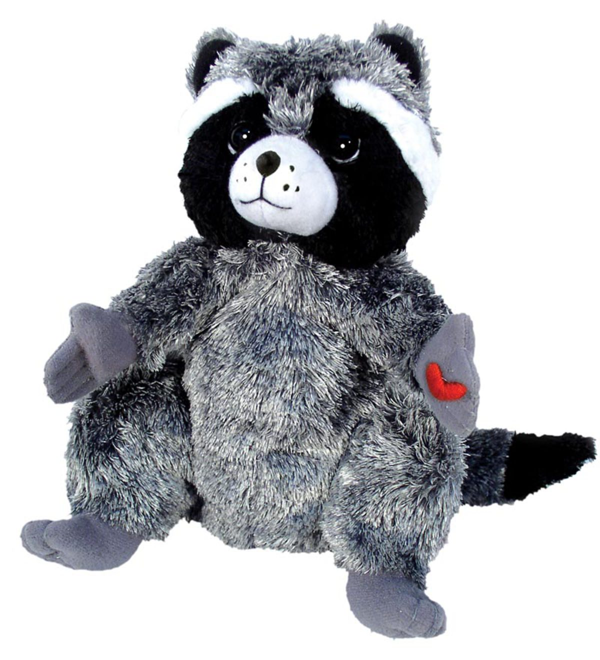 The Kissing Hand Raccoon Plush