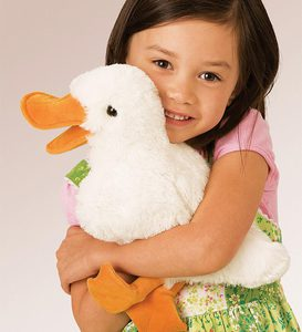 Plush Duck Puppet