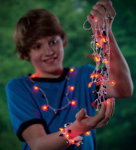 Flashing Star Necklaces (set of 10)