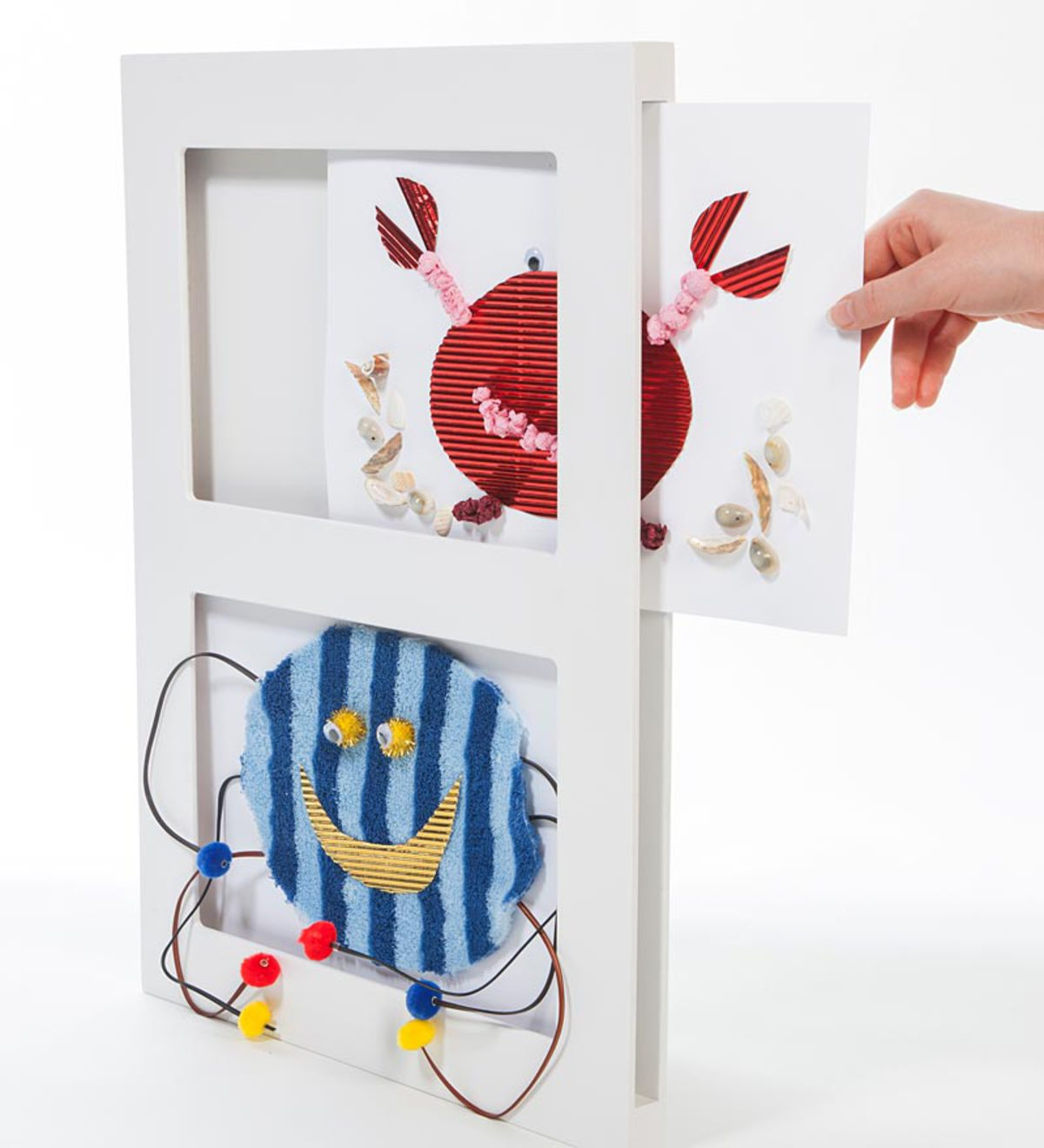 Double 3-D Art Frame