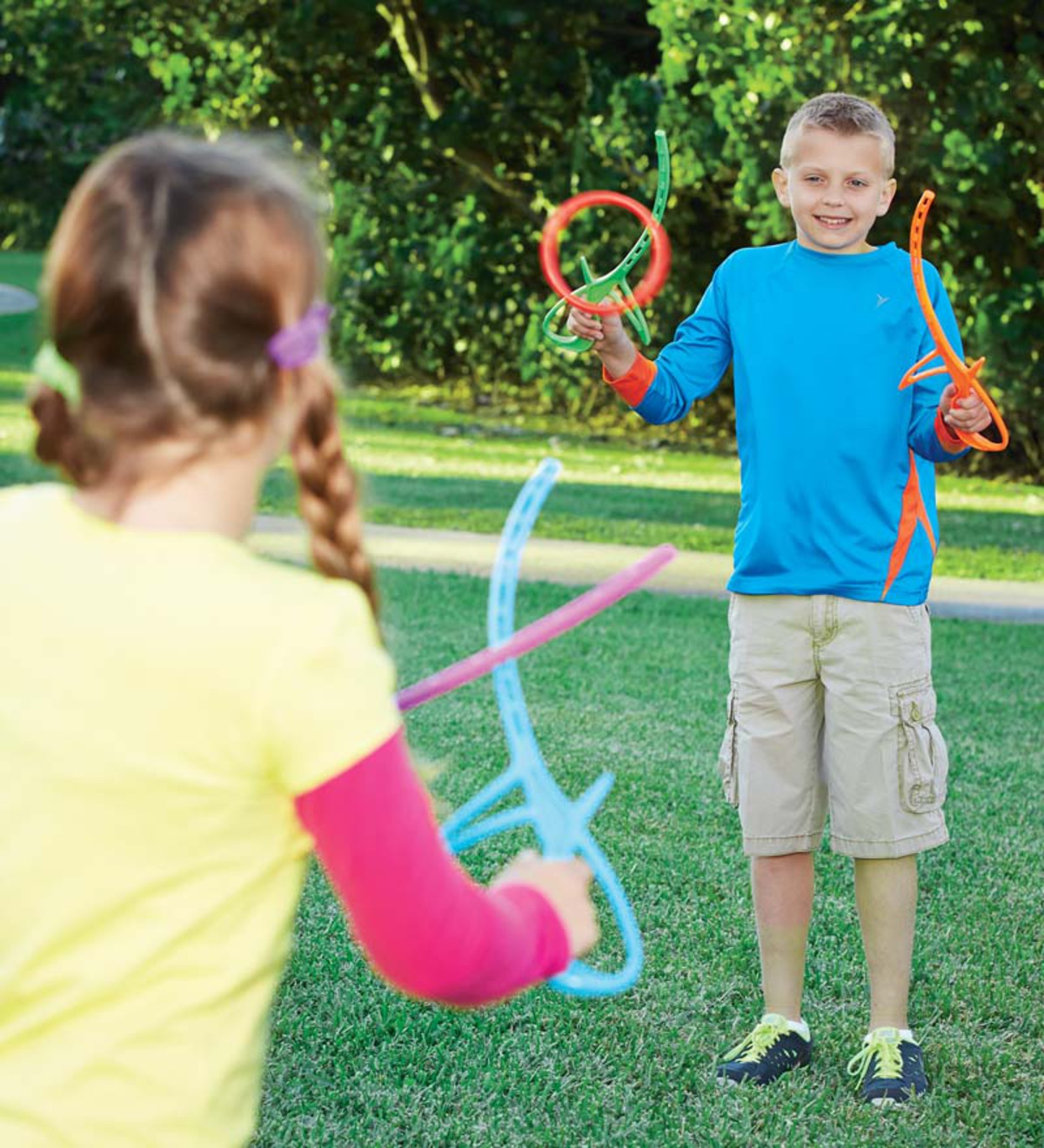 Colorful Ring Sticks Outdoor Game