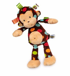 Taggies™ Dazzle Dots Plush Monkey