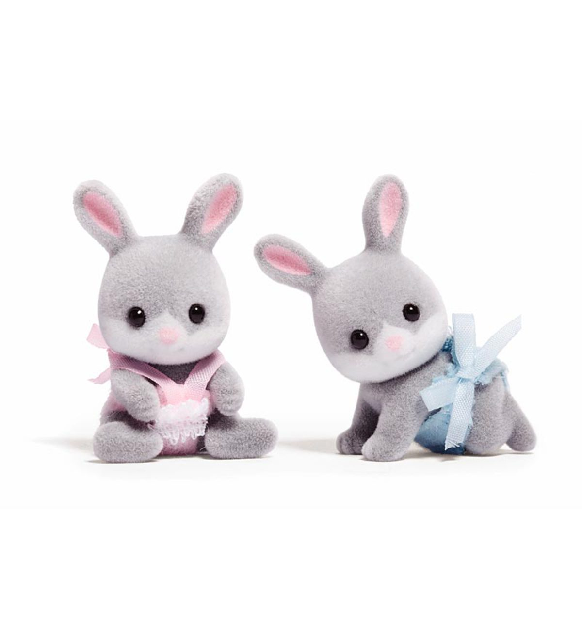 Cottontail Rabbit Twins (set of 2)