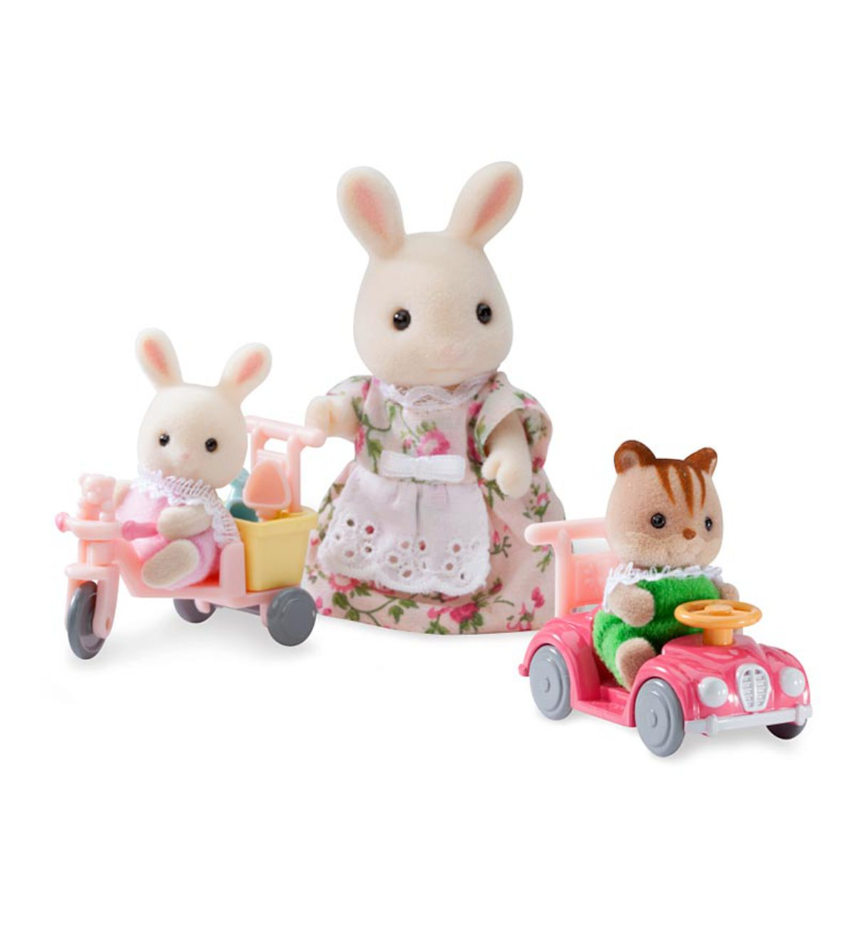 Calico Critters Apple and Jake's Ride 'n' Play