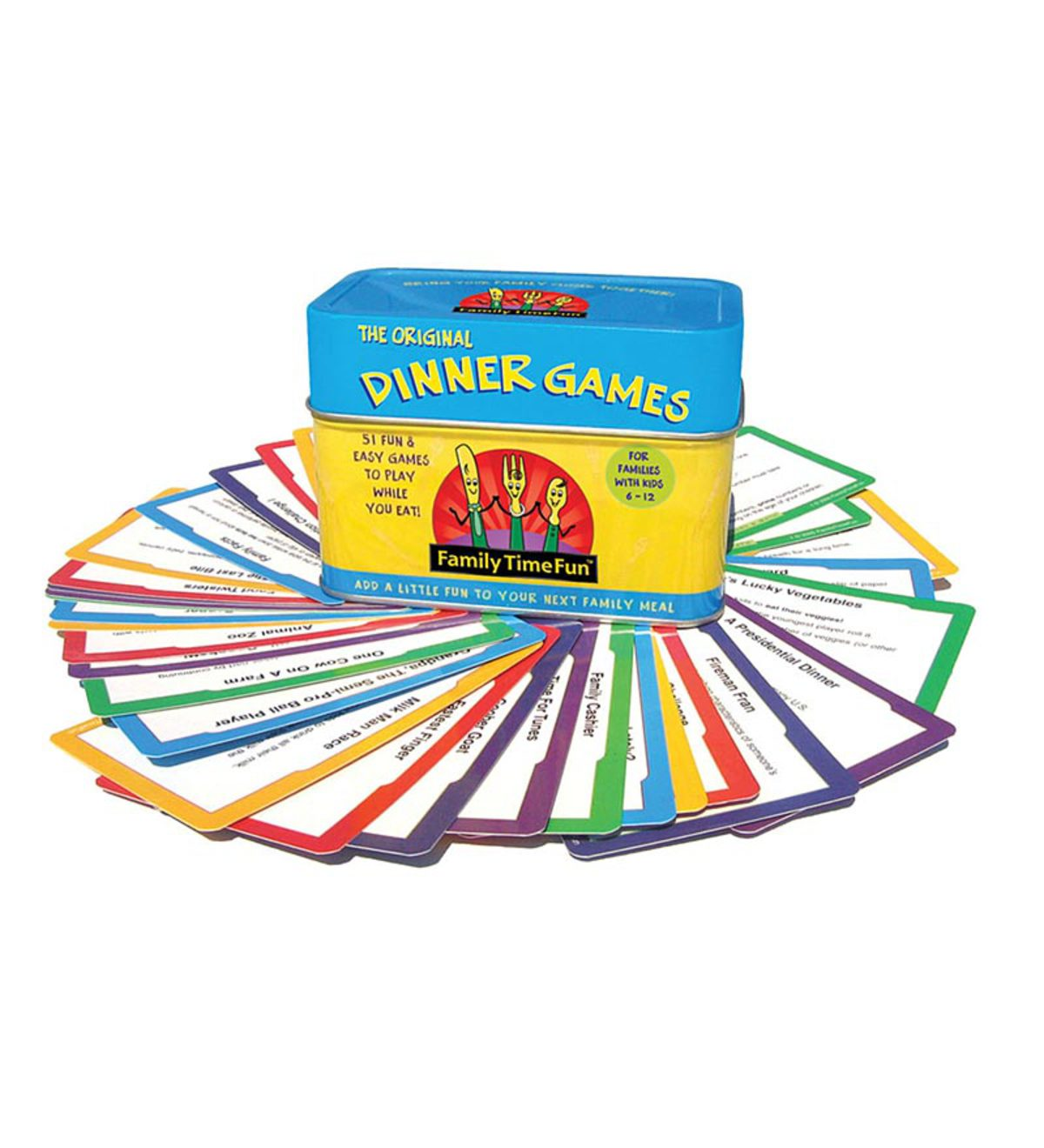 Dinner Games for Ages 5–12