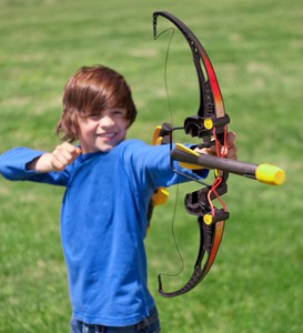 Child's Bow and Foam Arrows